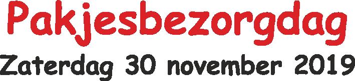 Pakjesbezorgdag Logo
